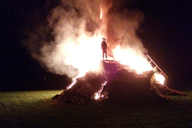Bonfire Night in the Village